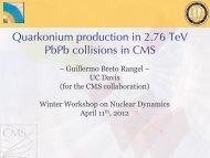Quarkonium production in 2.76 TeV PbPb collisions in CMS