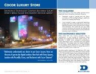 cocor luxury store the challenge