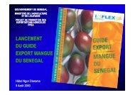 guide export mangue du senegal - Cop Horti