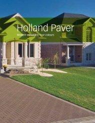 Holland Paver - Triple H Concrete Products