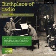 Birthplace of radio - Invest Essex