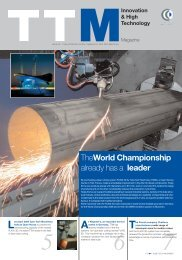 TheWorld Championship already has a leader - Tube Tech Machinery