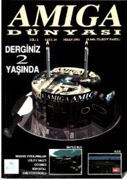 Amiga Dunyasi - Sayi 24 (Mayis 1992).pdf - Retro Dergi