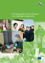 The demographic future of Europe – from challenge to opportunity