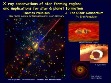 X-ray observations of star forming regions and implications for star ...