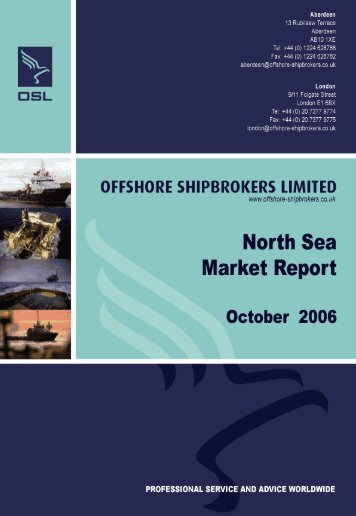 support vessels - Offshore Shipbrokers