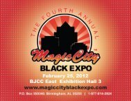 Download the 2012 Sponsor Packet - Magic City Black Expo