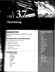 Unit 37 Plumbing