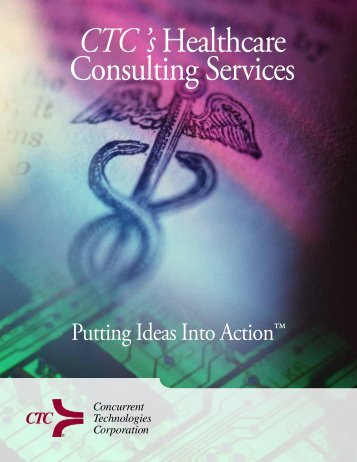 CTC 's Healthcare Consulting Services