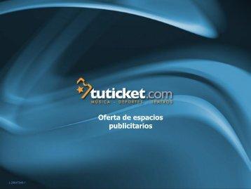 Diapositiva 1 - Tuticket.com