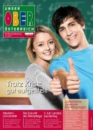 Unser Oberösterreich – Die Landesillustrierte 2/2010
