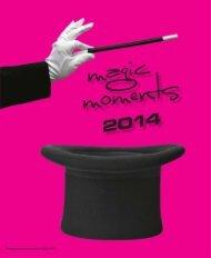 magic moments 20 1 3 :: attr aktiv e w erbemitt el - Agentur-exclusiv