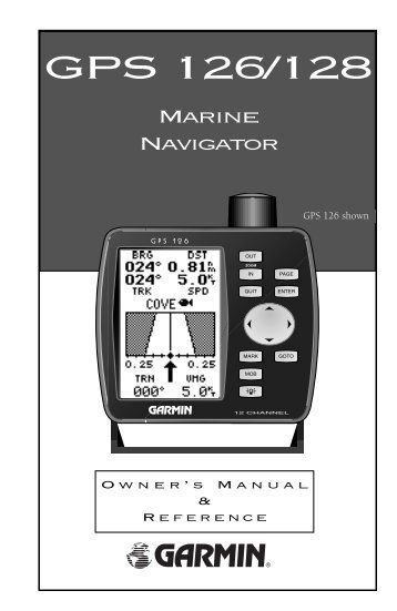 126 128 manual (new) garminGarmin 128 Wiring Diagram #12