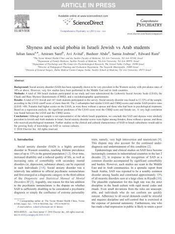 a diagnosis and recommendations for social phobia Footnote in the recommendations social anxiety disorder: to young people with social anxiety disorder diagnosis and ensure that the person with social.