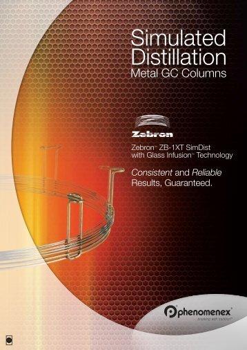 Simulated Distillation Simulated Distillation - Phenomenex
