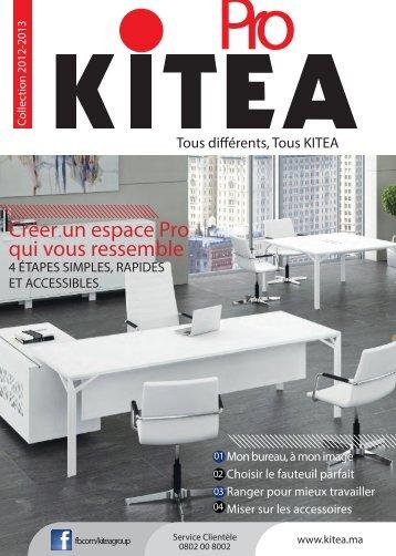 Créer un espace Pro qui vous ressemble - KITEA