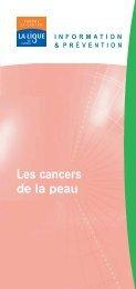 Les cancers de la peau - Pataclope83.com