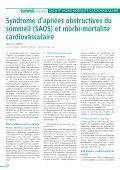 syndrome d'apnées du sommeil - SFRMS - Page 4