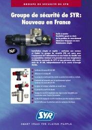Groupe de sécurité de SYR: Nouveau en France