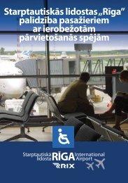"""Starptautiskās lidostas """"Rīga"""" - Riga International Airport"""