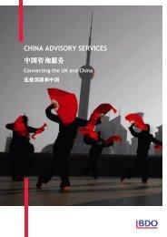 CHINA ADVISORY SERVICES 中国咨询服务 - UK.COM