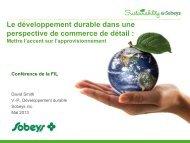 Engagement social - Point de vue d'un détaillant. - Centre canadien ...