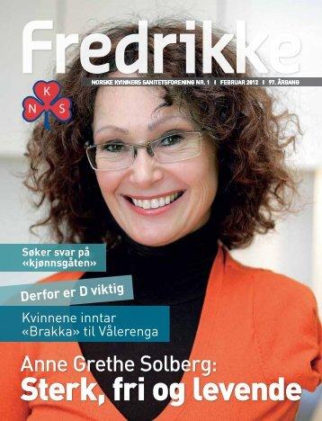 kvinner. - Norske Kvinners Sanitetsforening