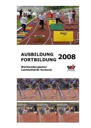 2008 - Württembergischer Leichtathletikverband