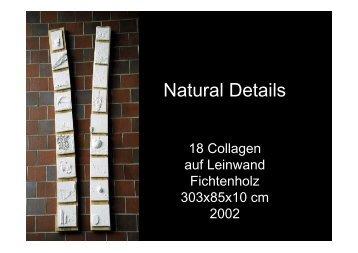 Natural Details - Ati von Gallwitz