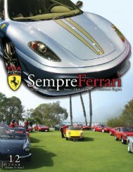 Volume 15 Issue 1 - January/February 2008 - Ferrari Club of ...