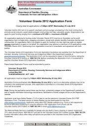 Volunteer Grants 2012 Application Form - Scouts Victoria