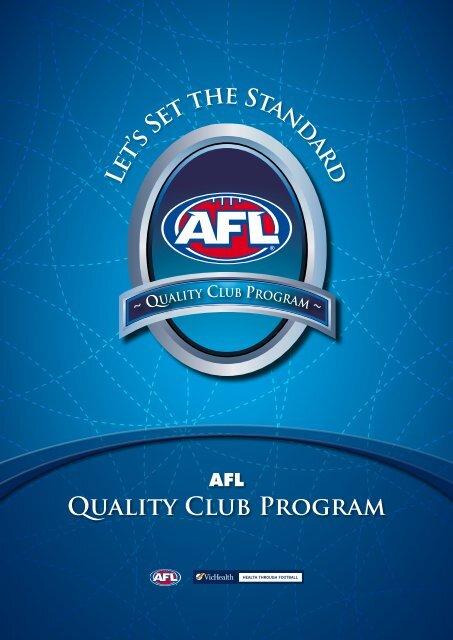 AFL Quality Club Program - Essendon District Football League