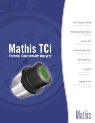 Mathis TCi Thermal Conductivity Analyzer - Setaram