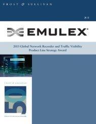 Strategy Award - Emulex