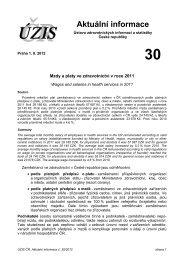 Aktuální informace č. 30/2012 - ÚZIS ČR