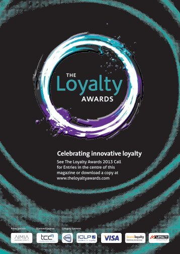 The Loyalty Awards 2013 shortlist