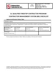 contractor management system (ms) checklist - FCIA