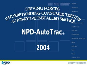 Interactive Session with the NPD Group - Automotive Industries ...