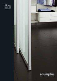 RAUMPLUS Sliding Doors & Room Dividers 2011 - Torda Türen