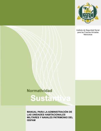 Normatividad Sustantiva - Issfam