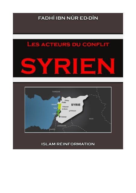 les-acteurs-du-conflit-syrien