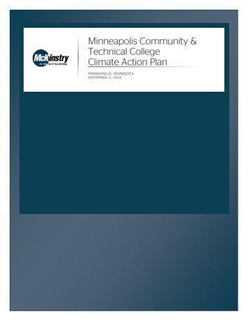 Minneapolis Community and Technical College Climate Action Plan