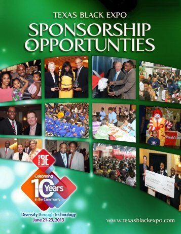 Celebrating 10 Years in the Community! - Texas Black Expo