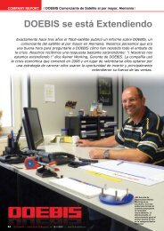 DOEBIS se está Extendiendo - TELE-satellite International Magazine