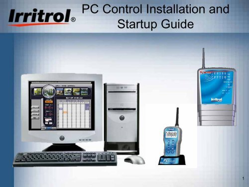 Irritrol PC Control Controller Owner's Manual - Irrigation