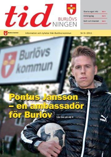 Burlövstidningen november 2011.pdf - Burlövs kommun