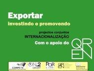Apresentação Global dos Projectos - Qren