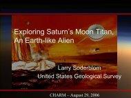 Exploring Saturn's Moon Titan, An Earth-like Alien - Cassini - NASA