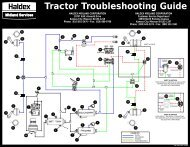 Tractor Troubleshooting Guide - Drive Train Industries