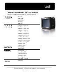 Aptus-II Camera Compatibility - Vistek